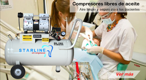 compresor libre de aceite starline dental